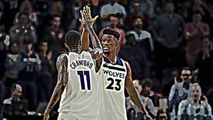 """Monday's Timberwolves Game: """"The Jimmy and Jamal Show"""""""