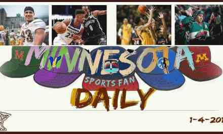 MINNESOTA SPORTS FAN DAILY: Thursday, January 4, 2017