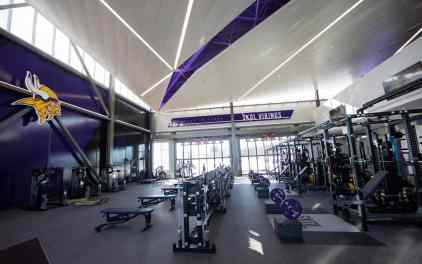 Check Out the Vikings' Sweet New Eagan Practice Facility