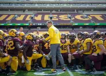 Key Gopher Football Players to Watch Out for Tonight; Rest of Season