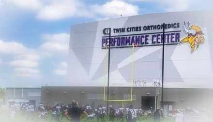 Toups Visits Vikings-Jags Practice and is Floored by Team and New Facilities