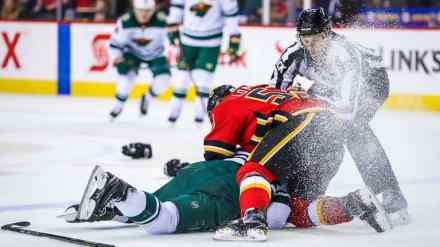 Koivu Sent Back to MN to Be Evaluated after Giordano Hit (2-Game Suspension)