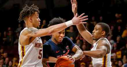 Isaiah Washington the Difference in Gopher Victory over Illini