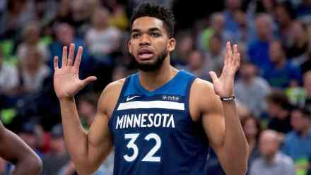 KAT Involved in Car Accident in Route to Airport Thursday; Questionable Tonight vs Knicks