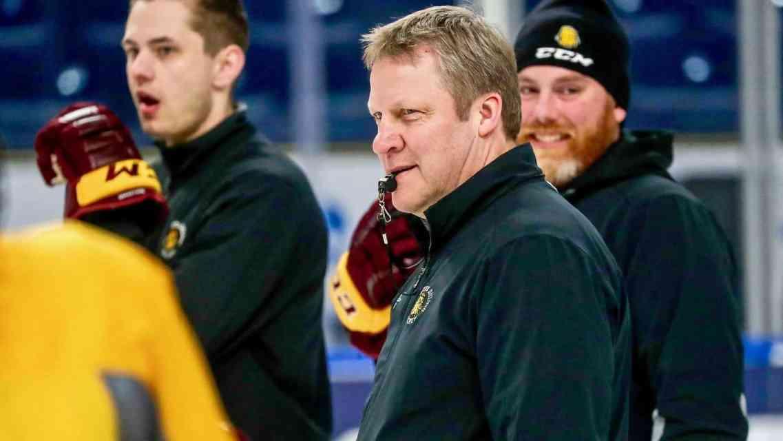 UMD's Scott Sandelin to Interview for Anaheim Head Coaching Job
