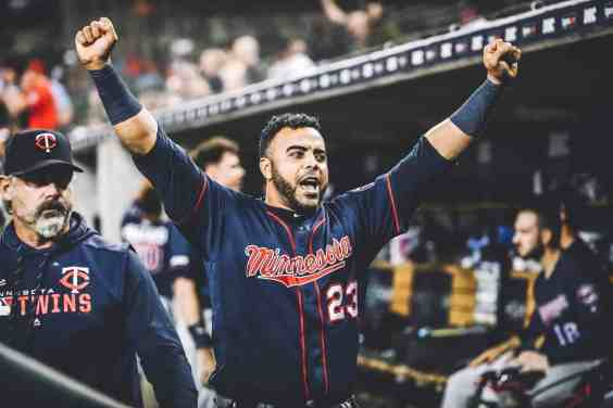 POP THAT CHAMPAGNE THE MINNESOTA TWINS ARE AL CENTRAL CHAMPS AGAIN