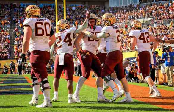 Gopher Football Finishes at #10 in Final AP Poll While Setting New Standard in the Classroom