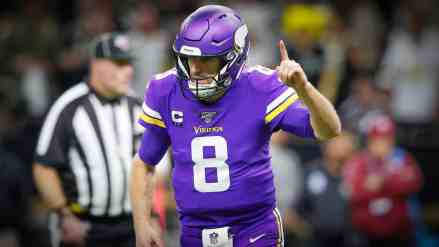 Kirk Cousins Turns to MN Legend in One Overtime; Vikings Stun Saints and Move On