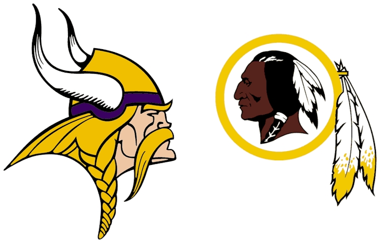 Vikings vs Redskins