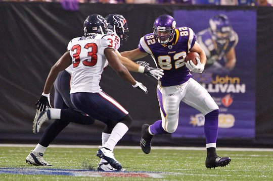 Photo of Kyle Rudolph vs Houston Texans.