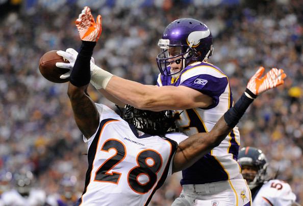 Photo: Kyle Rudolph vs Denver Broncos, 2011