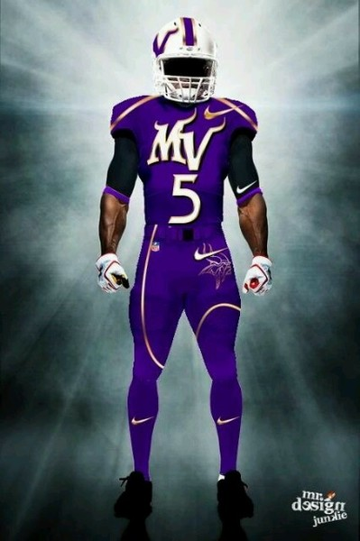Illustration - Fan-Designed Vikings Home Uniform