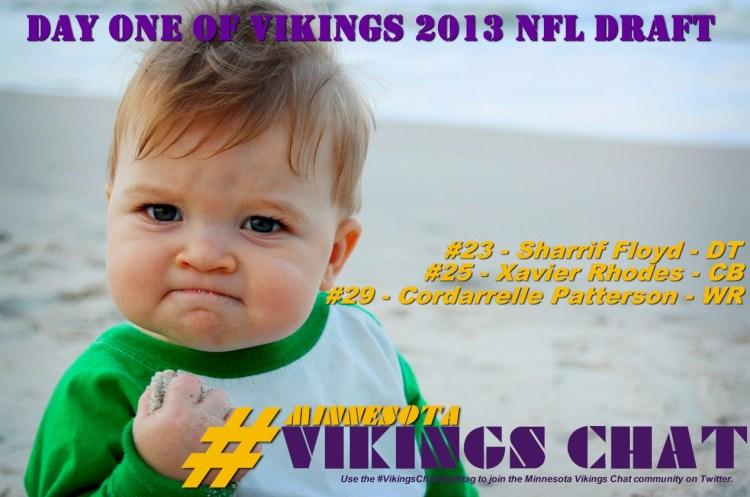 Minnesota Vikings 2013 NFL Draft - Day One
