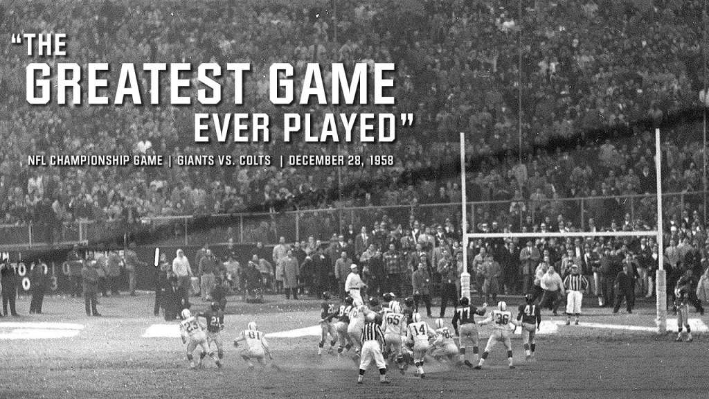 Photo: New York Giants vs Baltimore Colts