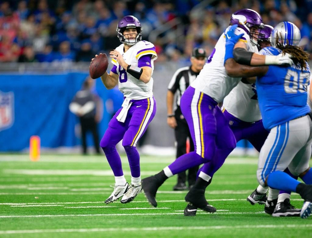 Photo: Kirk Cousins vs Detroit Lions