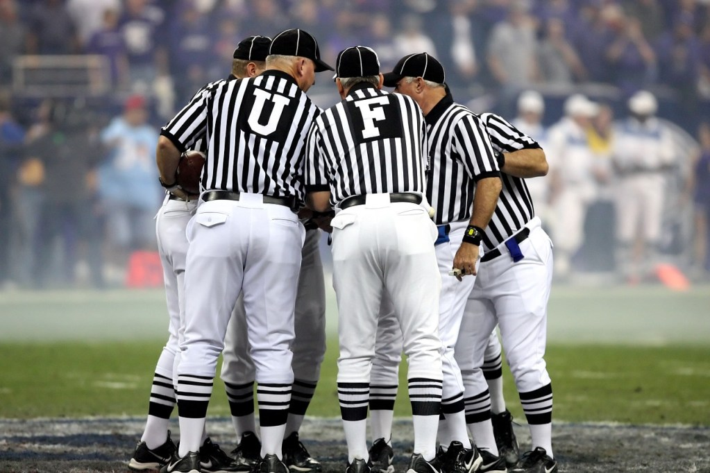 Photo: NFL Offciating Crew
