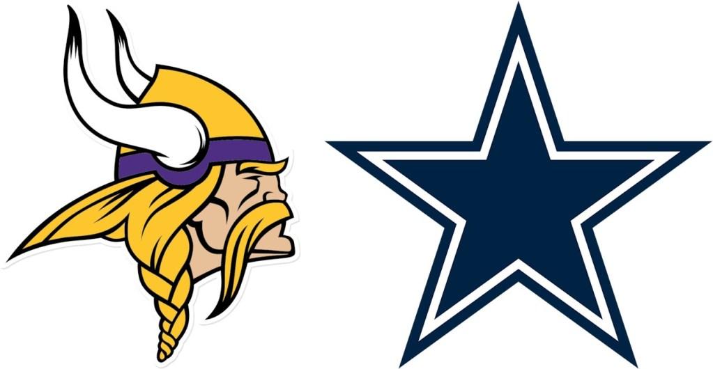 Logos: Vikings vs Cowboys