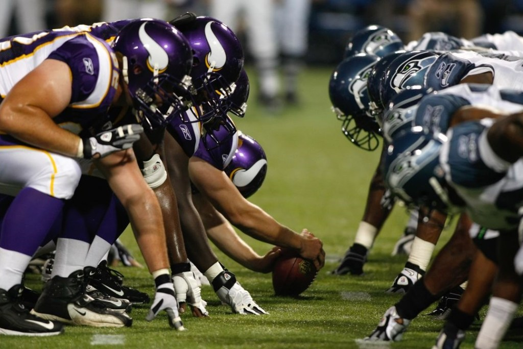 Photo: Minnesota Vikings vs Seattle Seahawks