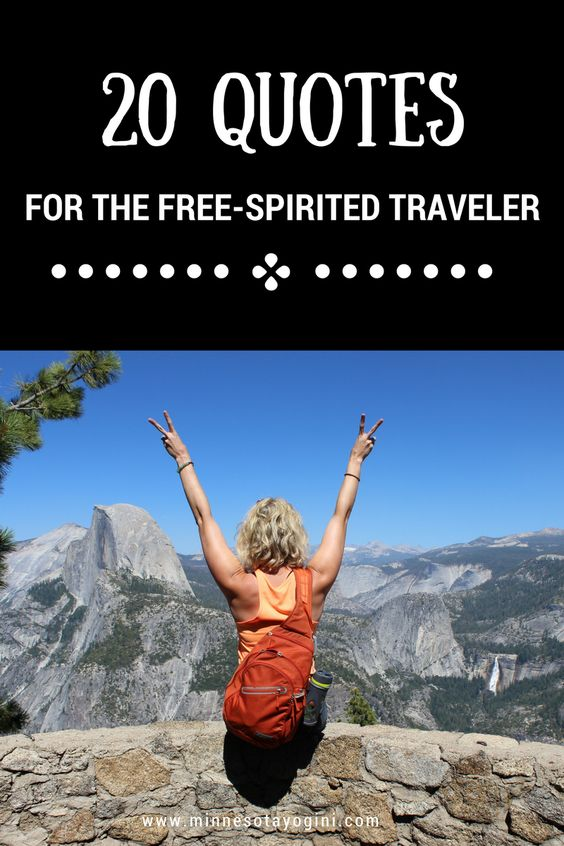 20 Travel Quotes for Those with a Free Spirit