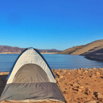 Free Camping on Lake Mead