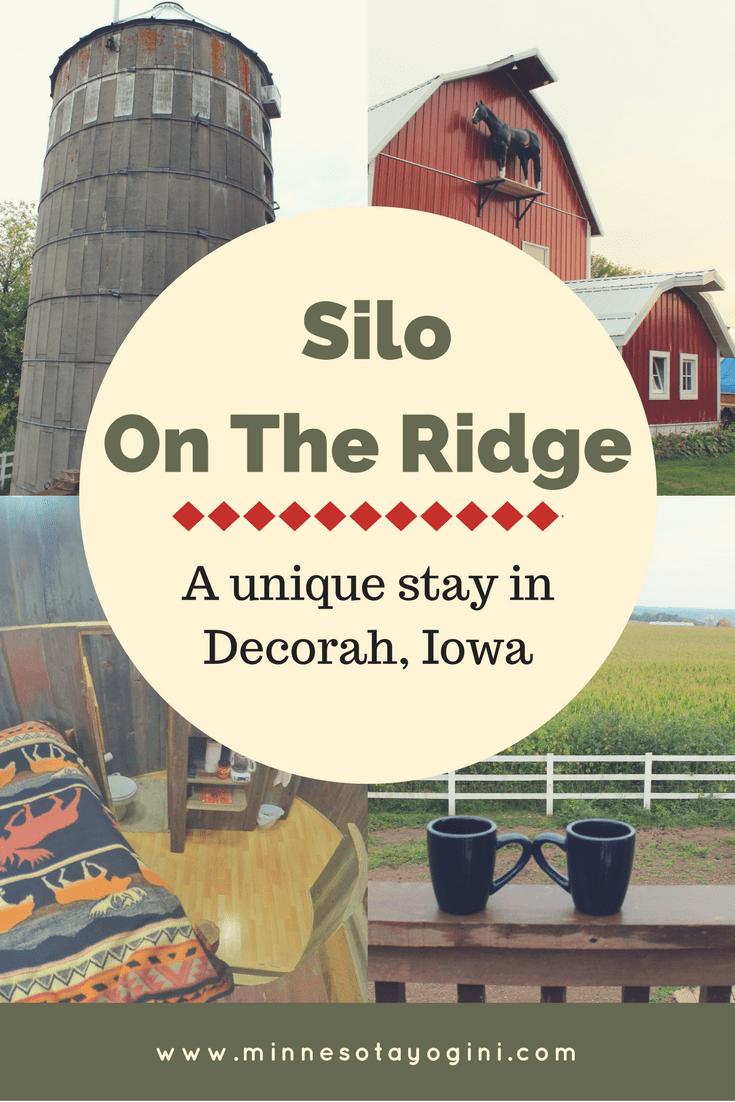 Silo on the Ridge, a Unique stay in Decorah, Iowa