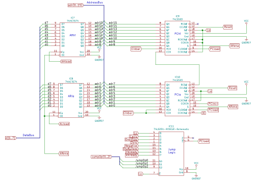 small resolution of the three jumpop lines come from the microinstruction decode rom and select one of the eight status lines the selected line is inverted and becomes the