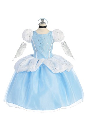 Cinderella dress for birthday parties