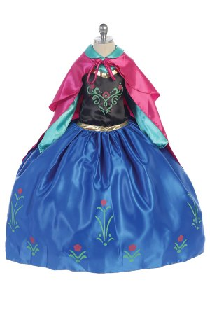 anna from frozen costume for girls