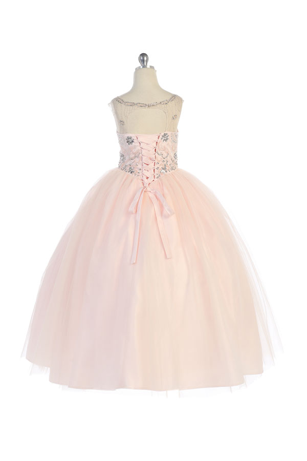 Blush Ballgown with jacket