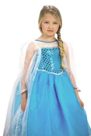Elsa from frozen costume front