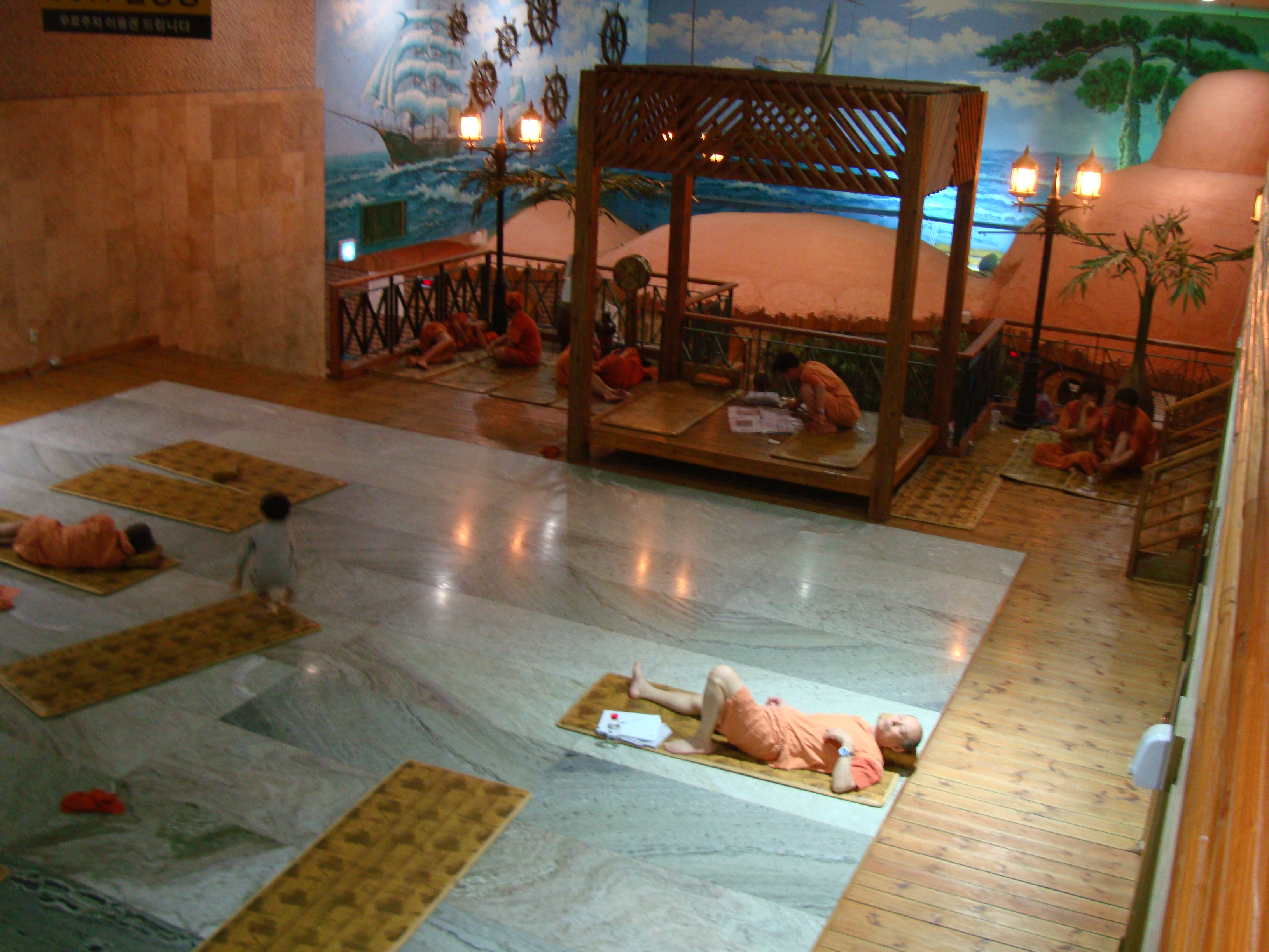 The first experience in JimJil Bang Korean sauna  Story