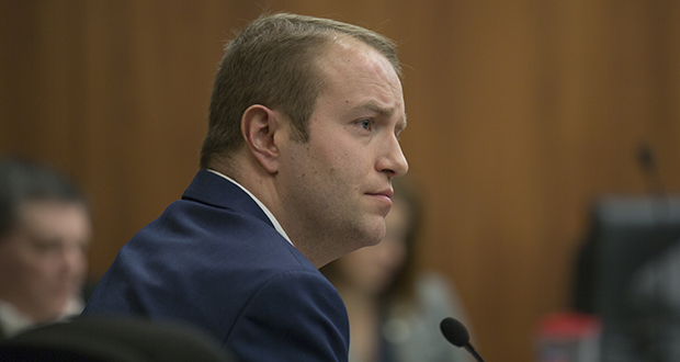 House File 390 is a revamp of a 2017 bill by Rep. Nick Zerwas, R-Elk River, aimed at keeping people off freeways and to prevent them from blocking railways and airport access points. (File photo: Kevin Featherly)