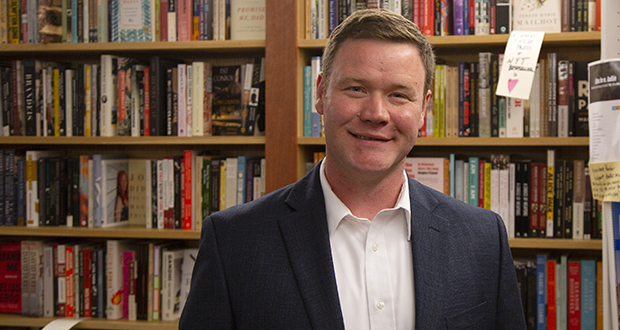 Doug Wardlow's campaign strategy leading up to the primary was simple and unusual: Start by focusing on the candidate's likely opponent in November, former U.S. Rep. Keith Ellison. (File photo: Kevin Featherly)