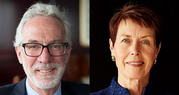 Robert King and Kathleen Flynn Peterson