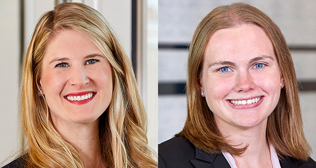 Lauren Nuffort and Michelle Kuhl