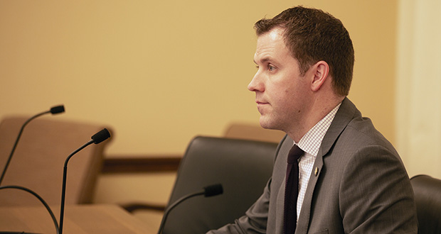 "Rep. Jamie Long, DFL-Minneapolis, was hired in July as an ""energy research project specialist"" at the University of Minnesota's Institute on the Environment. He resigned last week. (File photo: Kevin Featherly)"