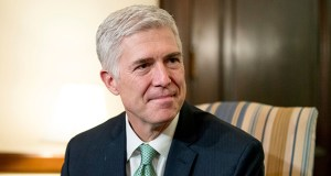 While the high court seems closely divided in the LGBT issue, some observers see Justice Neil Gorsuch, somewhat surprisingly, as the possible swing vote. (AP file photo)