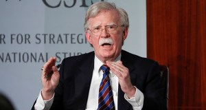 Former National Security Adviser John Bolton, shown in a September file photo, says he will testify if subpoenaed to appear at the impeachment trial of President Donald Trump. Columnist Noah Feldman doubts that will happen. (AP file photo)
