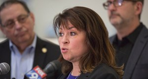 Sen. Susan Kent has defeated Sen. Tom Bakk in an election for the leadership of the DFL Senate caucus. (File photo: Kevin Featherly)