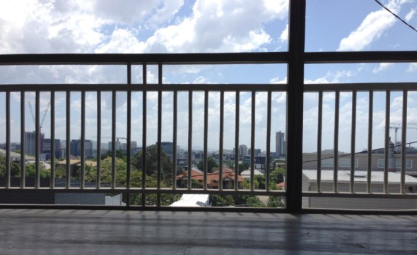 The balustrade on my Queenslander house.
