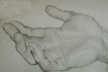 the hand