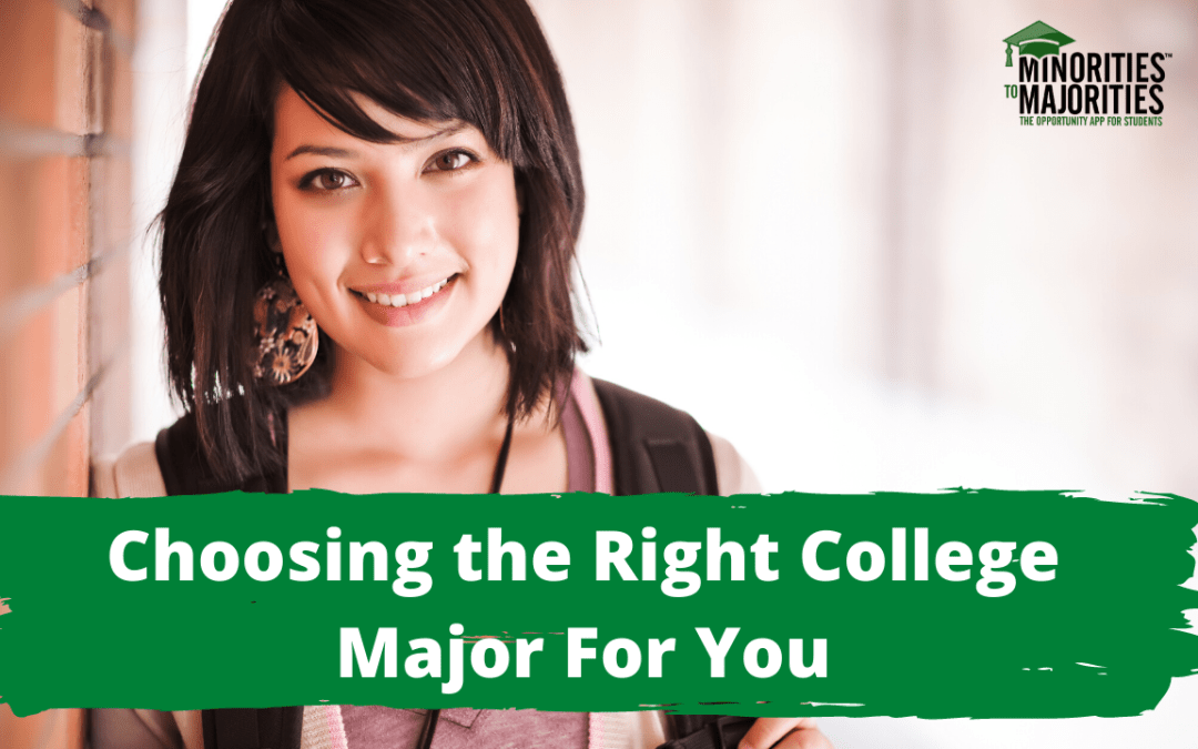 Choosing the Right College Major for You