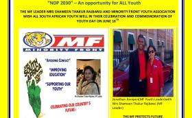 MF Youth Day advert 2015