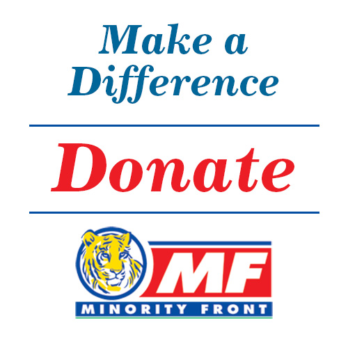 Donate to the Minority Front and Make a Difference