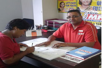Minority Front Assists with Indigent Application