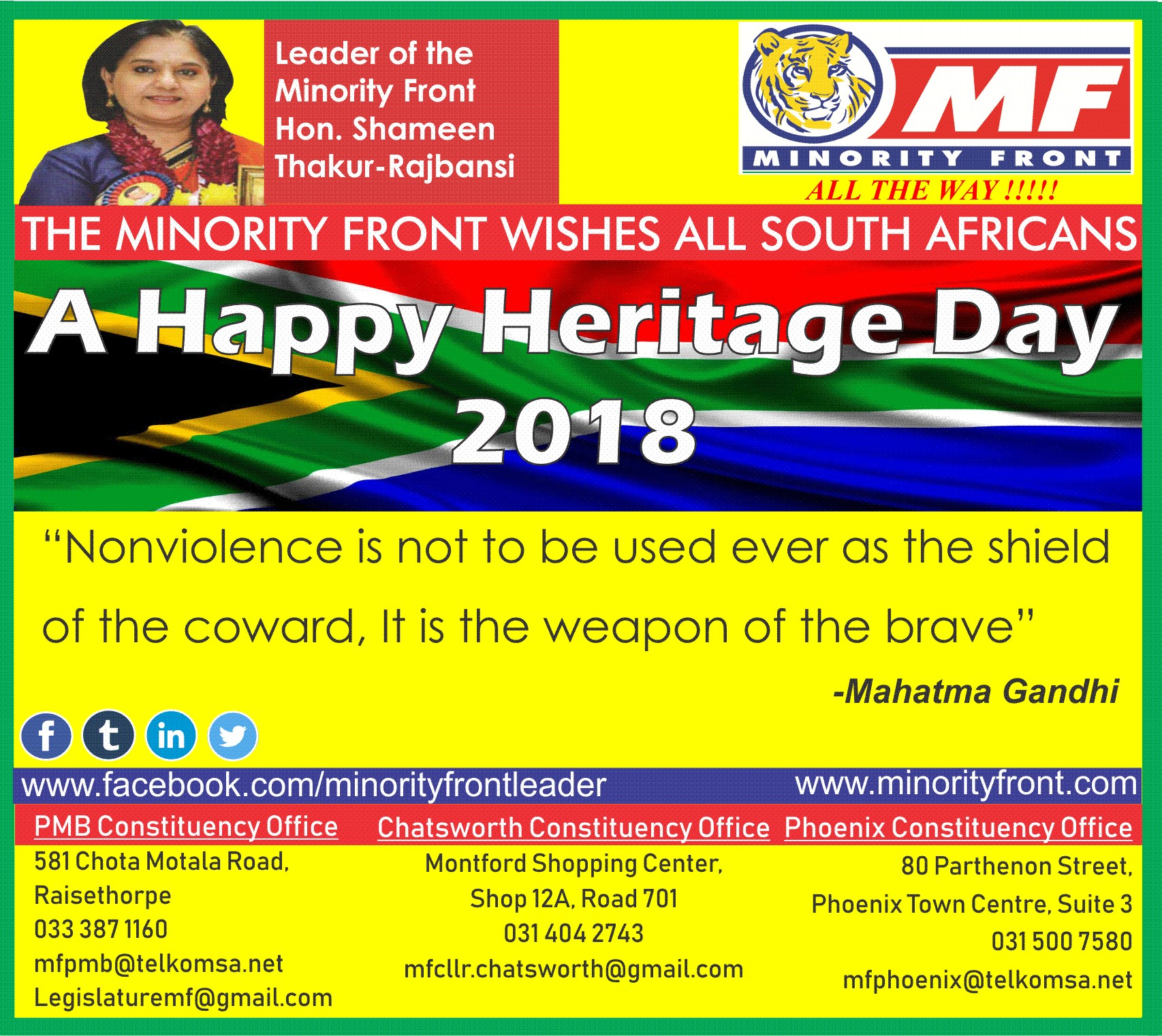 Heritage Day 2018