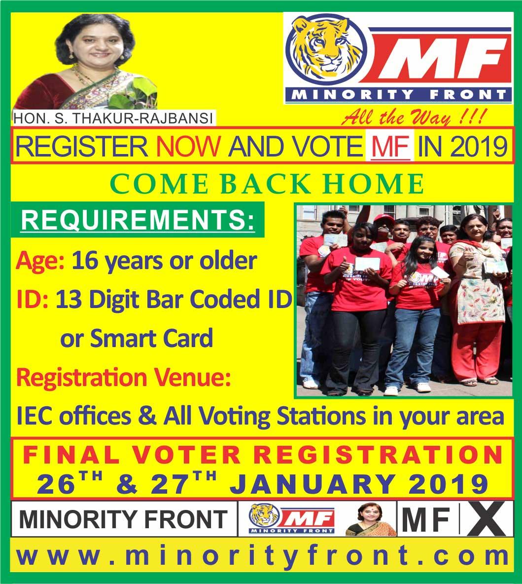 Register and Vote 2019