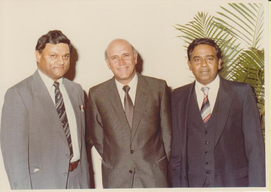 Mr Rajbansi with political photograph 13