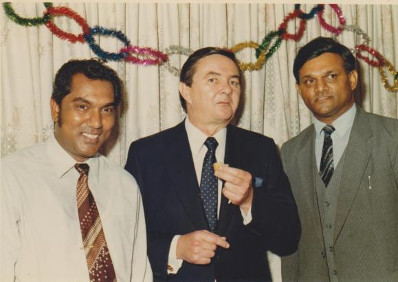 Mr Rajbansi with political photograph 6