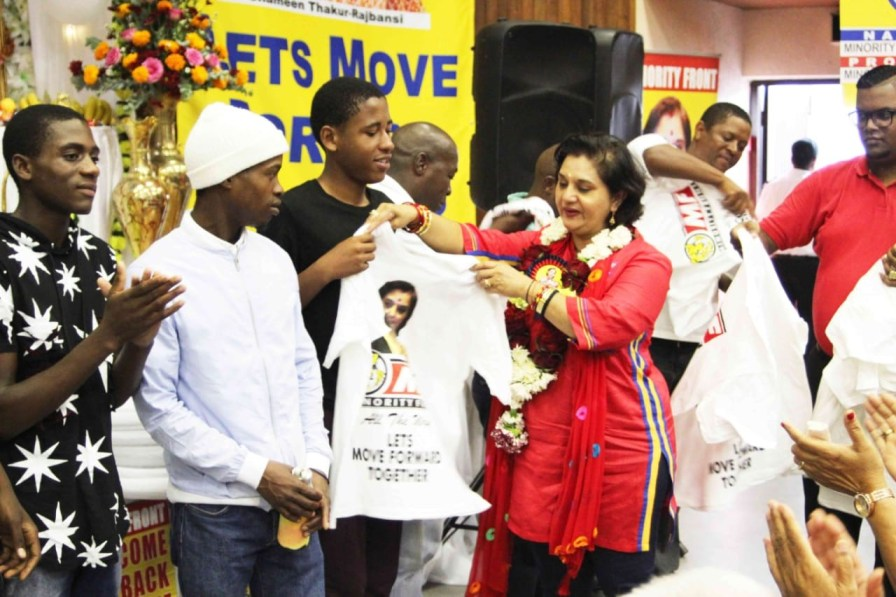 MINORITY FRONT WELCOMES NEW CADRES